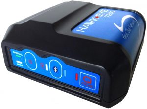 small black tracking device